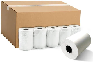 POS Thermal Paper Roll 58MM for Receipt Printing in Printer, Credit Card Swipe Machine, HandHeld Billing Machine