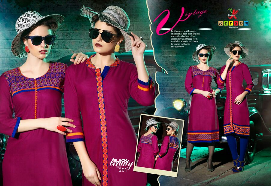 Black Beauty Vol 2 – Latest Heavy Rayon Kurti Buy Online