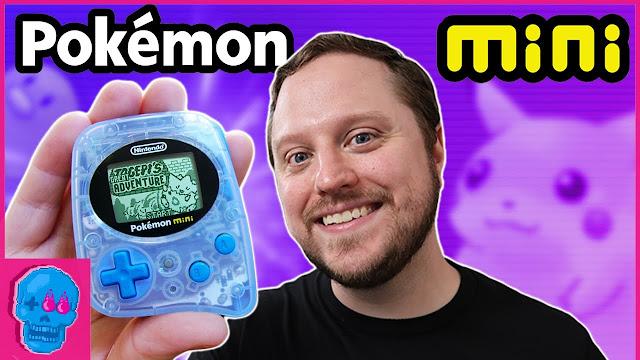 Pokemon Mini o menor console da Nintendo