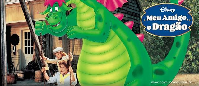 Sessão da Tarde:MEU AMIGO, O DRAGÃO (Pete's Dragon) - 1977