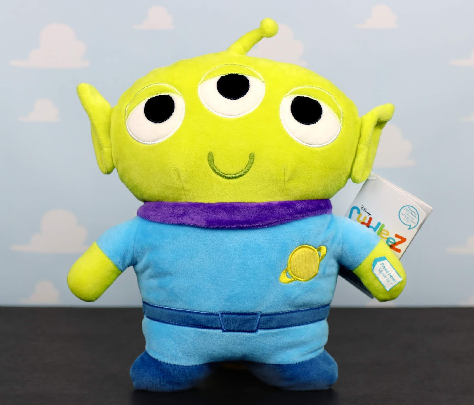 disney store toy story light up alien plush