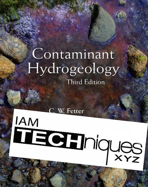 Contaminant Hydrogeology Third Edition