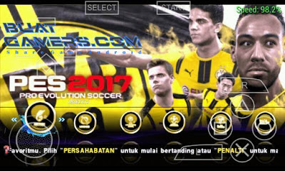 Download PES Jogress V2 2017 PPSSPP ISO Emulator Android Terbaru