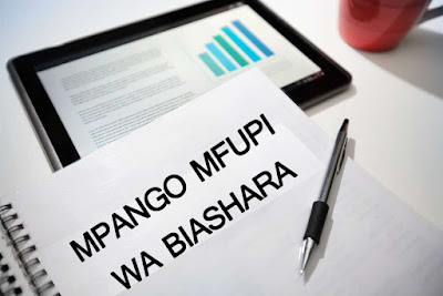 MPANGO RAHISI WA BIASHARA-ONE PAGE BUSINESS PLAN