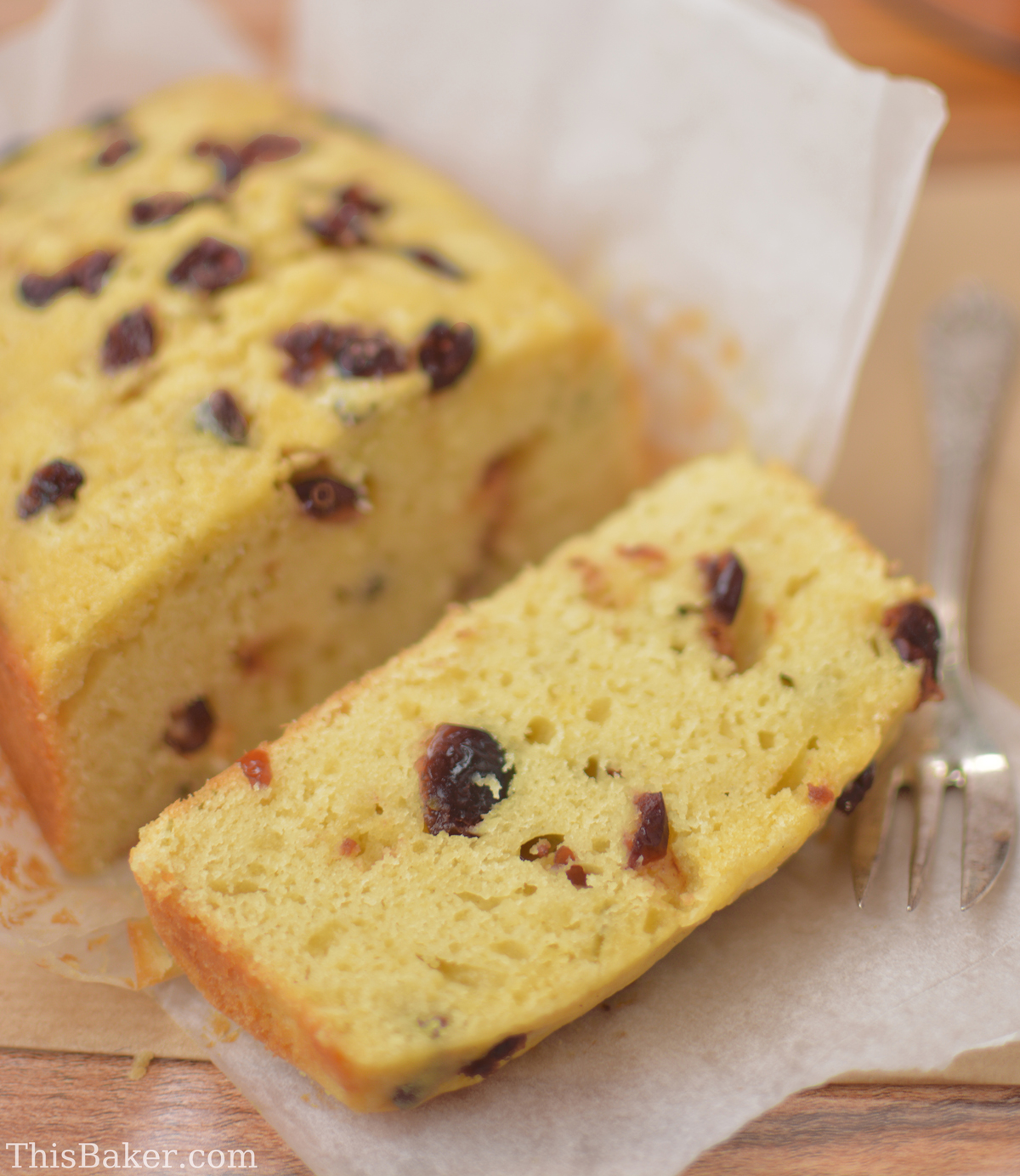 Fine Cooking Lemon and Cranberry Quick Bread