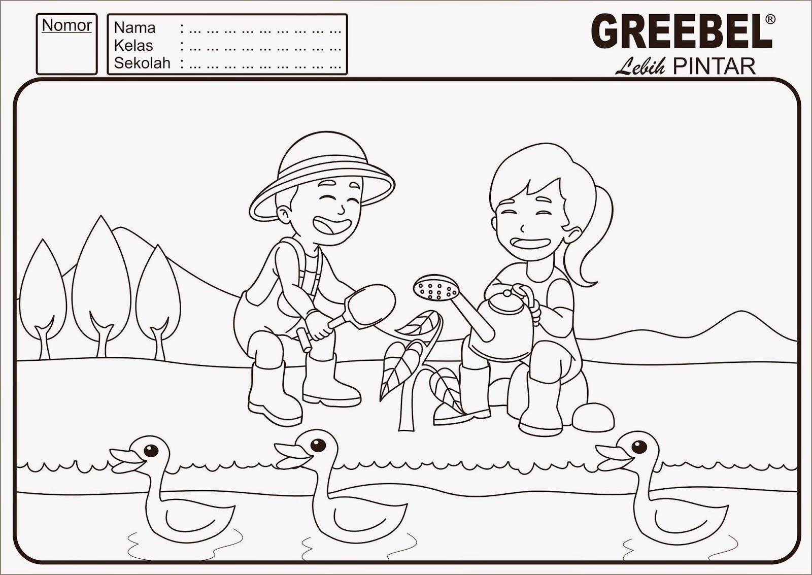 Mewarnai Gambar Rekreasi Keluarga Mewarnai Cerita Terbaru Lucu Sedih Humor Kocak Romantis