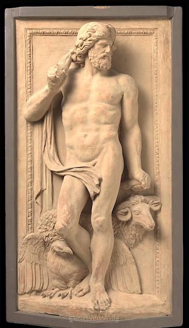 Artus Quellinus (1609–1668) 'Atelier de...) Jupiter- c. 1650–c. 1665 Terracotta, H: 89 cm × L: 47.5 cm × Poid s78 kg Rijksmuseum