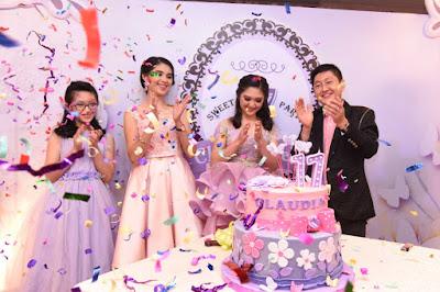 dekorasi ulang tahun ke 17 terbaru