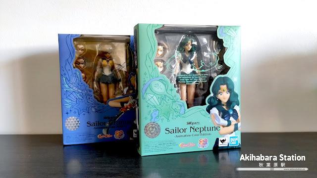Review de las S.H.Figuarts Sailor Urano y Sailor Neptune - Tamashii Nations