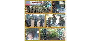 Wasdal, Sahli Pangdam I/Bukit Barisan Kunjungi Satgas Pamtas Yonif 125/Simbisa