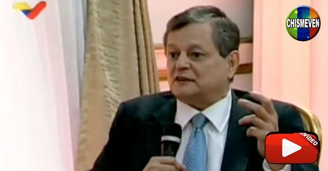 Franklin Virgüez le da hasta con el tobo a Kiko Bautista tras entrevista a Maduro
