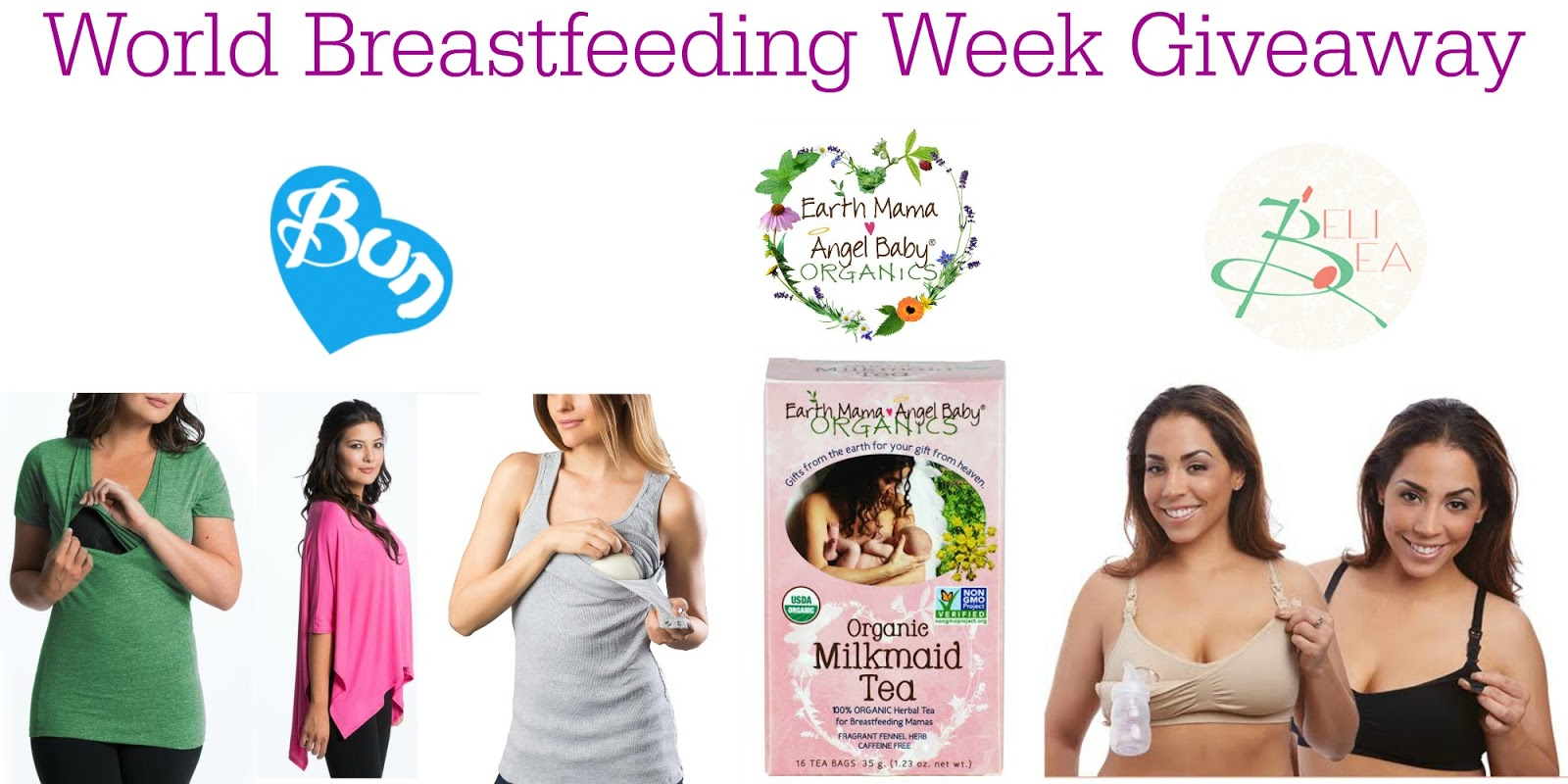 524e9f7bec1a3 World Breastfeeding Week Giveaway, Ends 8/15 - Nanny to Mommy