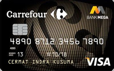 Shopping Mega Carrefour Card