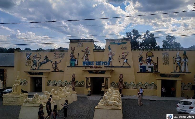 Museu Egípcio - O que fazer em Canela