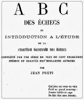 Portada del ABC des échecs de Jean Preti