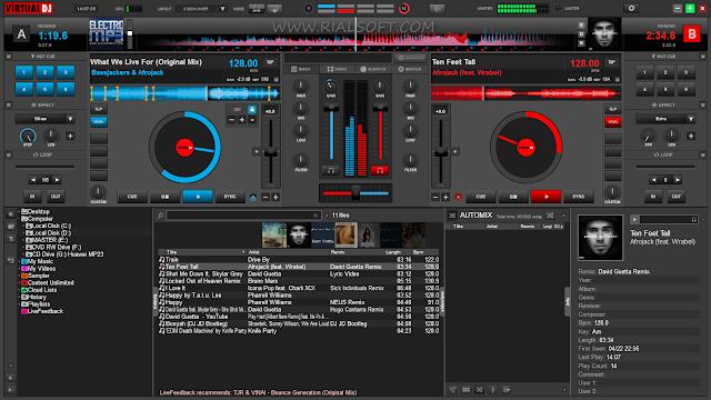 Virtual DJ Pro 8.0.2265 Full Version + Plugin