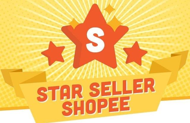 syarat star seller shopee
