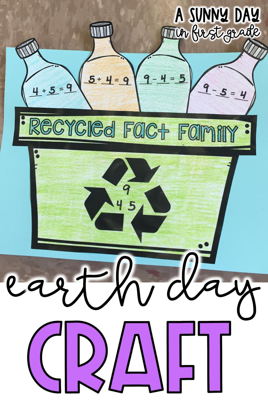 Earth Day Math Craft