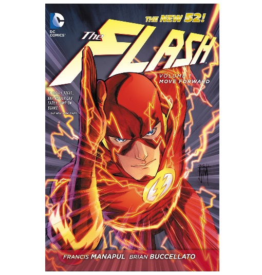 "30 gifts for ""the flash"" lover in your life DC Comics The New 52 The Flash Volume 1 ""Move Forward"" graphic novel"