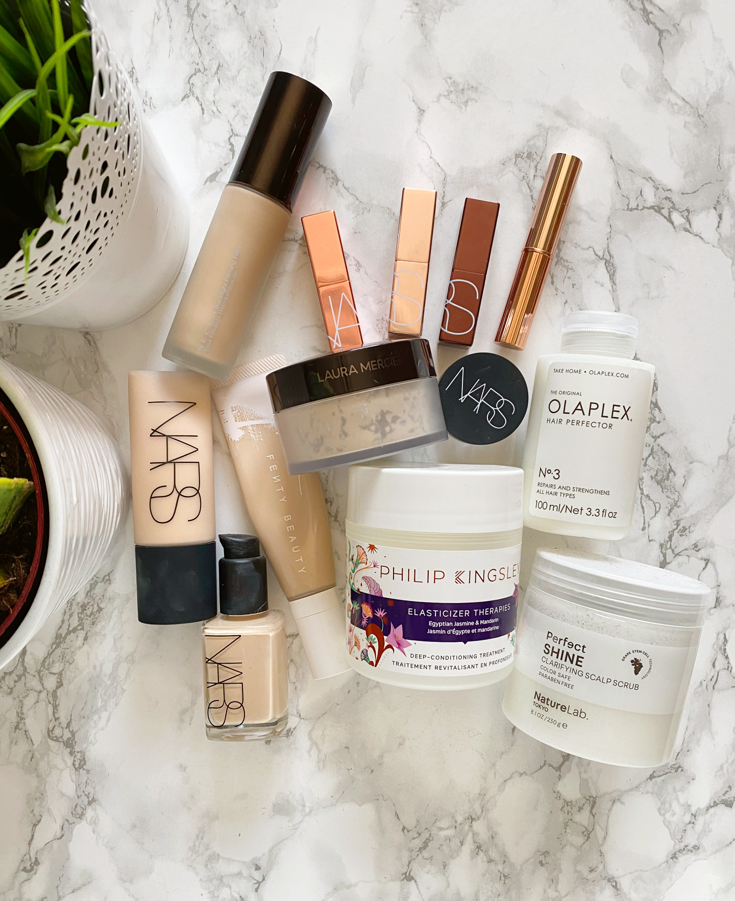 best makeup and haircare for roaccutane