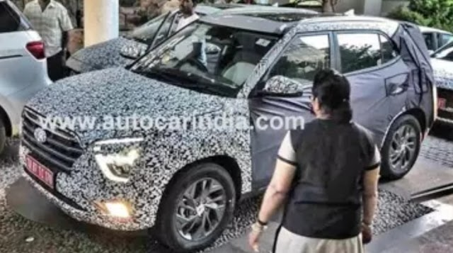 Next-gen Hyundai Creta spotted with panoramic sunroof : Teamstechnology