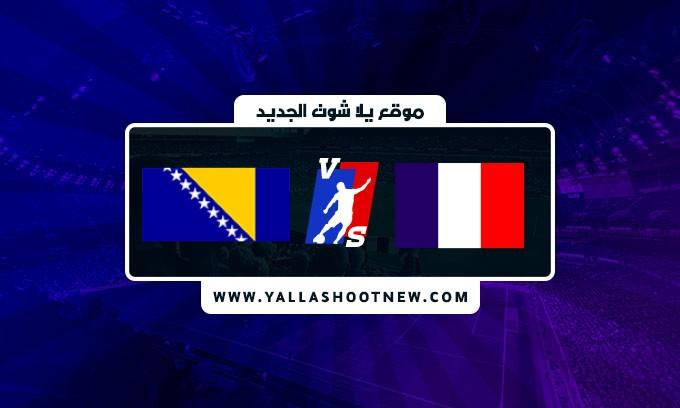 نتيجة مباراة فرنسا والبوسنة والهرسك اليوم في تصفيات كأس العالم أوروبا
