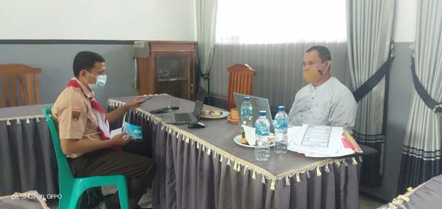 Pendampingan Guru Penggerak di SMP N 1 Cipari