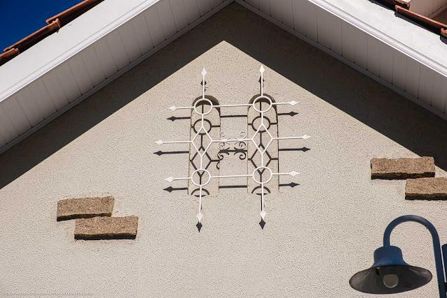 Casa na Rua Conselheiro Aráujo - detalhes - ornamento de ferro