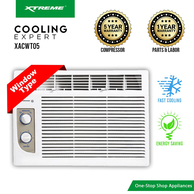 XTREME Cool Window Type Airconditioner