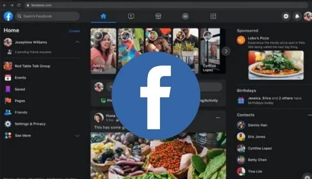 كيفية تفعيل الوضع المظلم أو الليلي في تصميم فيسبوك الجديد