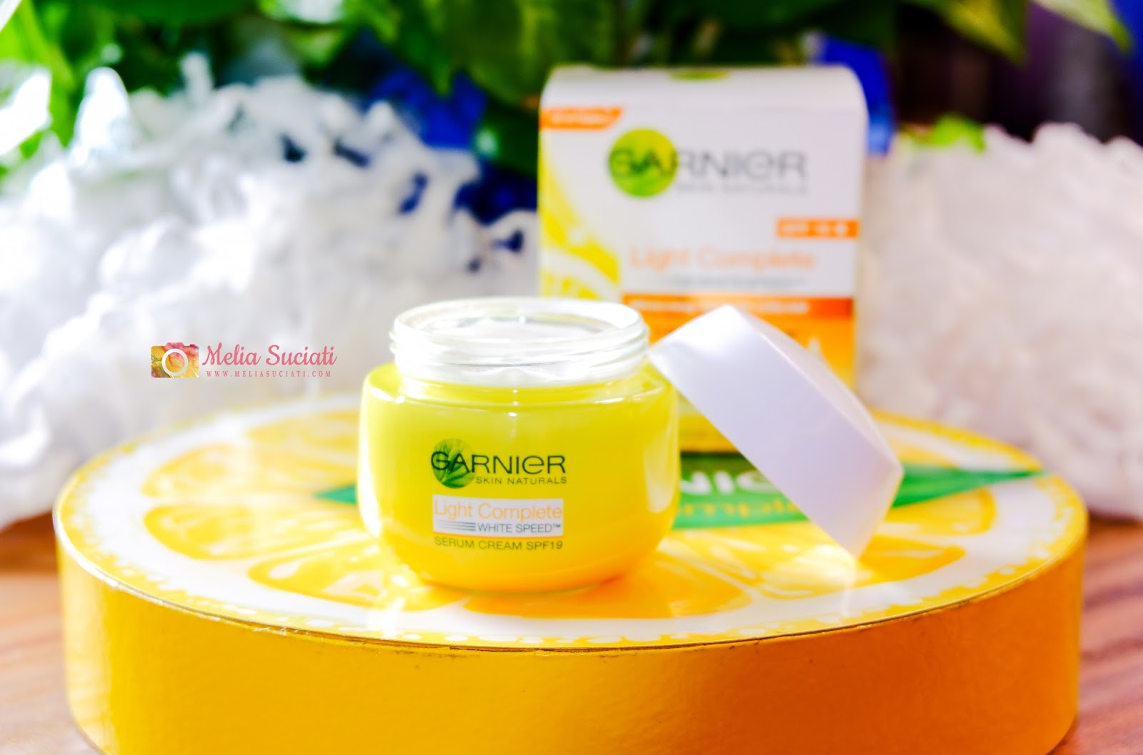 Review Garnier Light Complete White Speed Yuzu Whitening Serum Cream