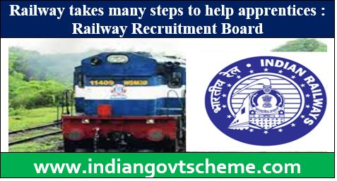 Railway reserve 20% vacancies for apprentices