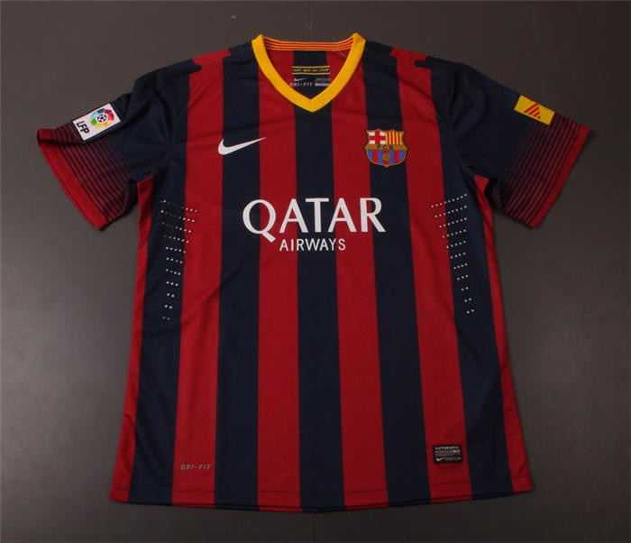 Check out our fc barcelona jersey selection for the very best in unique or custom, handmade pieces from our clothing shops. Jersey Barcelona 2013/2014 - Toko Jersey