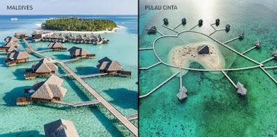 Pulau Cinta Gorontalo Saingan Terberat Maldives