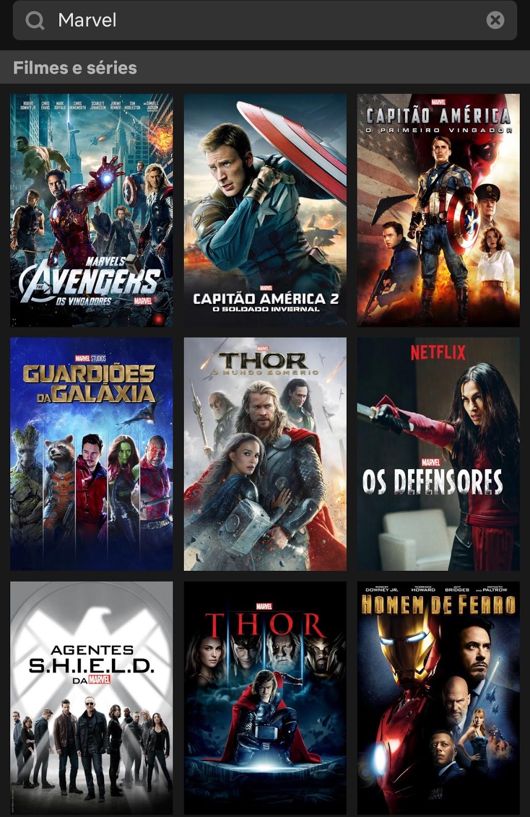 maratona filmes e séries Universo Marvel na Netflix _ blog Mamãe de Salto