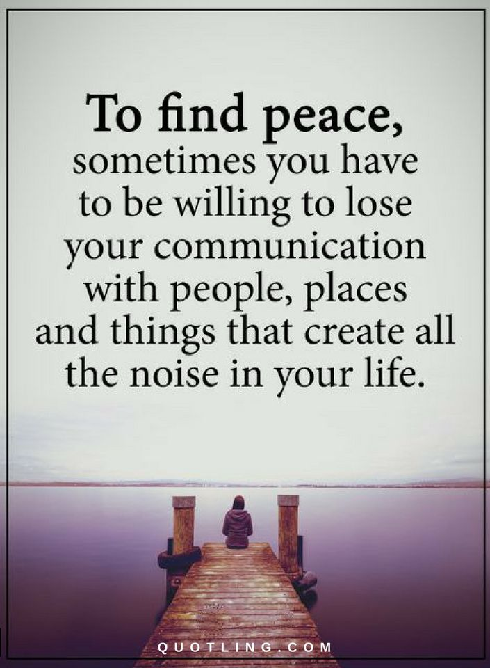 Finding Peace Quotes To find peace, sometimes you have to be willing to lose your  Finding Peace Quotes
