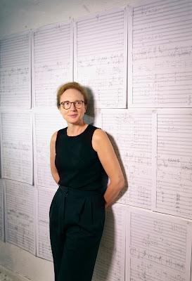 Rebecca Saunders (Photo Astrid Ackermann)