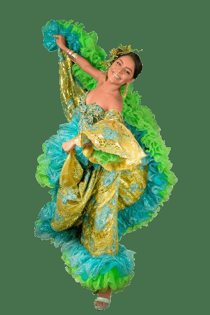 lX Reinnado Popular del Carnaval de Riohacha se prende con la imposición de bandas a las candidatas