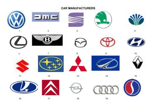 Car Symbols And Names List 29969 Enews
