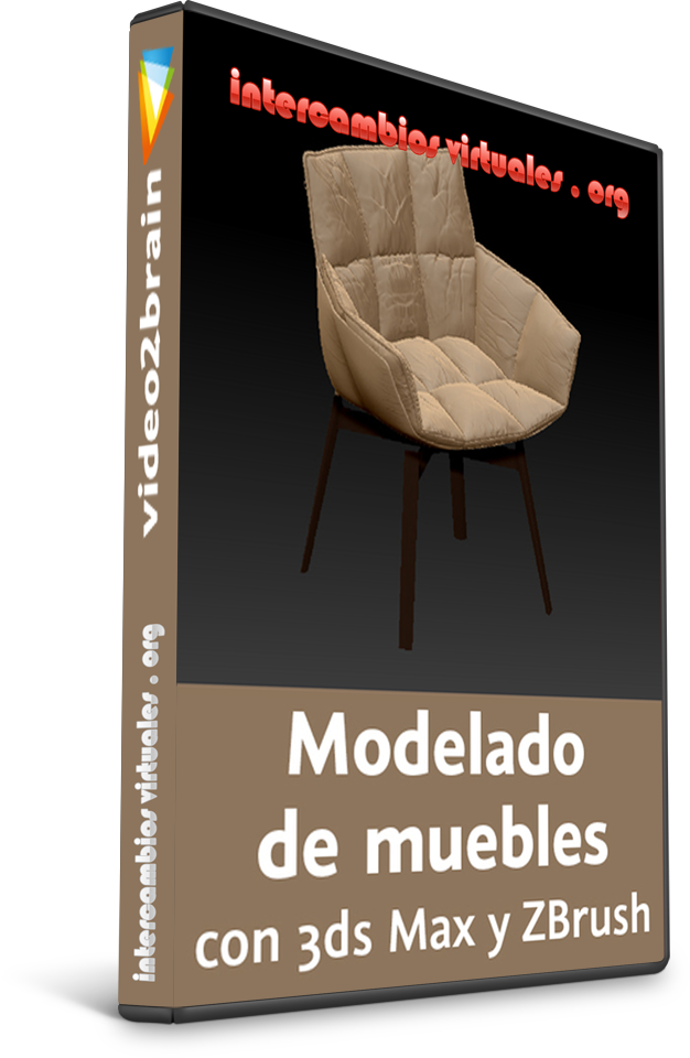 Modelado de muebles con 3ds max y zbrush for Muebles oficina 3ds max