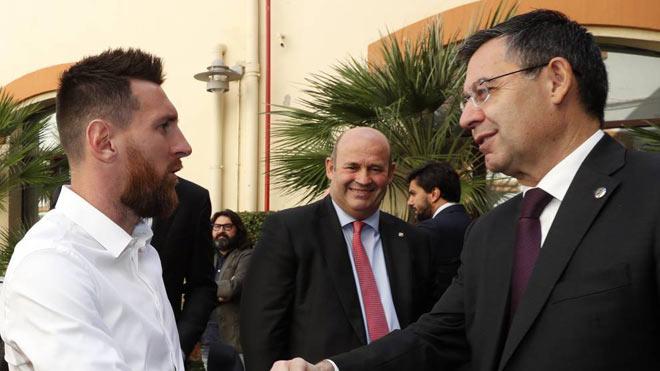 Nóng: Chủ tịch Bartomeu bị ép từ chức ngày mai 27/8, Messi có ở lại Barca?