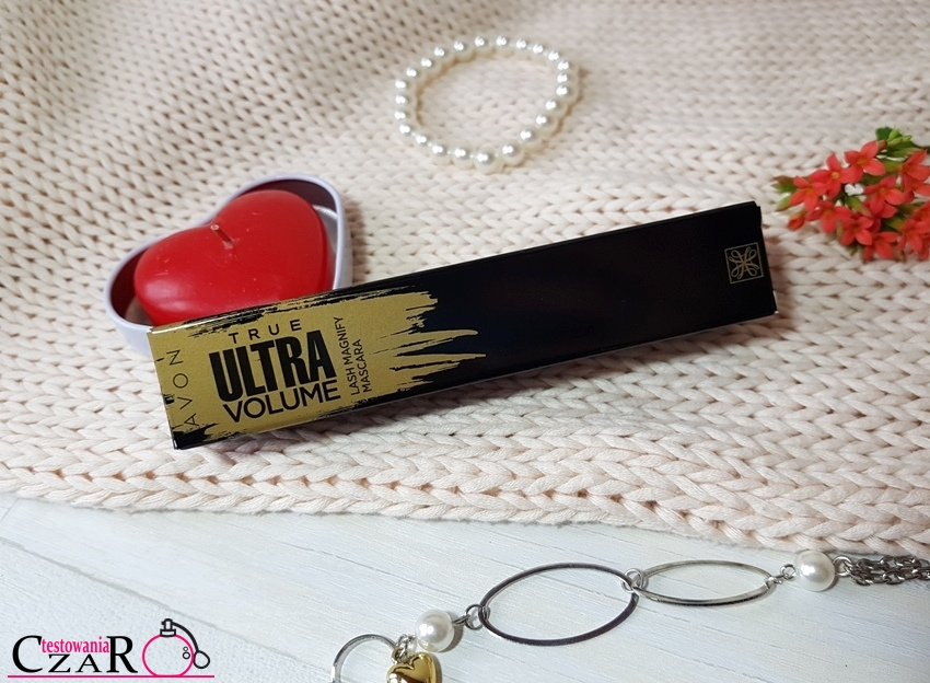 Tusz do rzęs ULTRAobjętość - Avon True Ultra Volume Lash Magnify Mascara