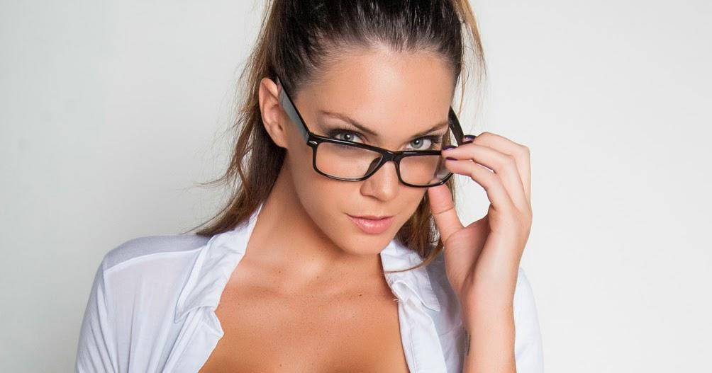 Alison Tyler in Sexy Teacher Costume