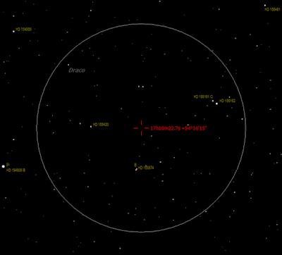 region near mu Draconis - including STF 2146