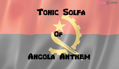 Angolla Anthem Solfas Note