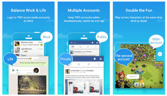 Parallel Space Multiple Accounts Mod Apk Premium
