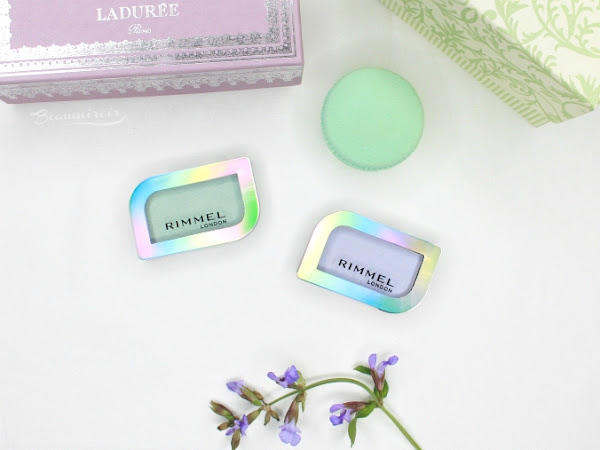 Spring Pastels With Rimmel Magnif'Eyes Holographic Eye Shadows