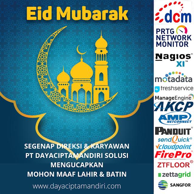 Selamat Hari Raya Idul Fitri 1 Syawal 1441H