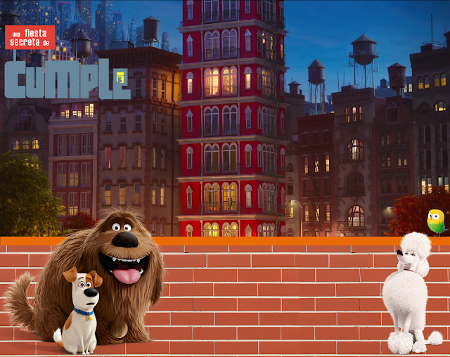 the secret life of pets, birthday lasupermamy.blogspot.com.es
