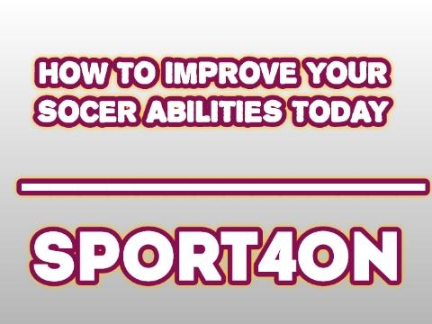 Soccer abilities.